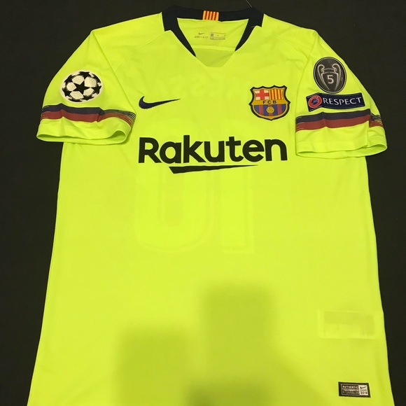 low priced 1eaf8 7c644 FC Barcelona Away Jersey Messi #10 2XL